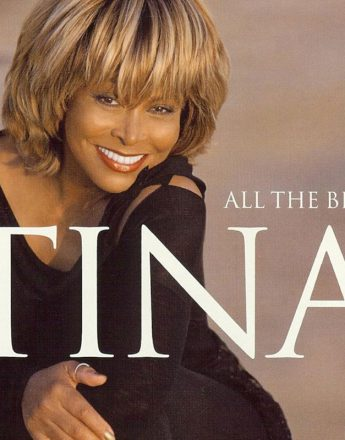 Tina Turner for her All the Best album cover, shot at her beautiful home in southern France. Photography Paul Cox.