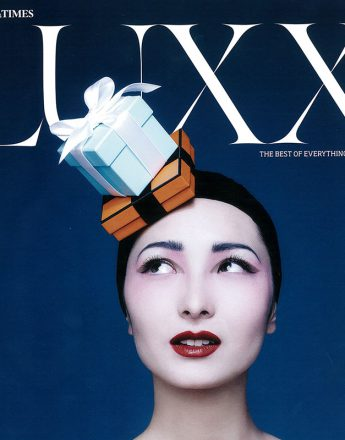 Cover picture for Luxx magazine. Photography by Matthew Shave.